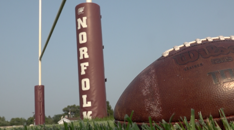 Norfolk football team takes on season with new coach from Sidney