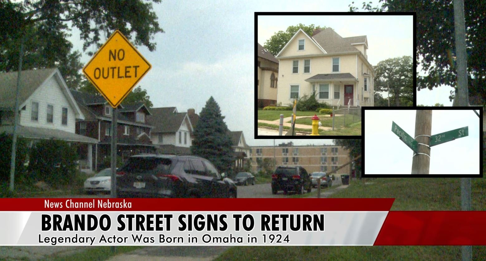 Marlon Brando street signs: An offer Omaha could not refuse