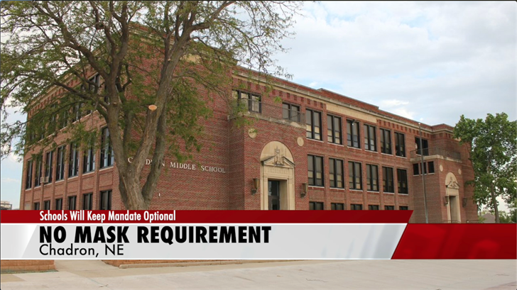 Chadron Public Schools will not require masks, keeping them optional