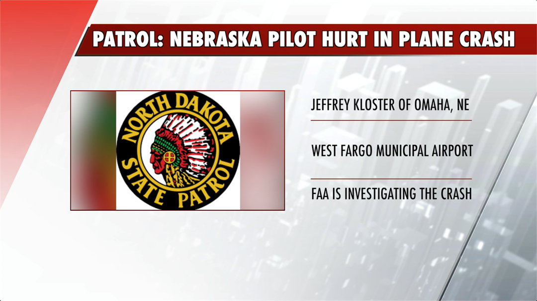 Omaha pilot injured in plane crash in North Dakota
