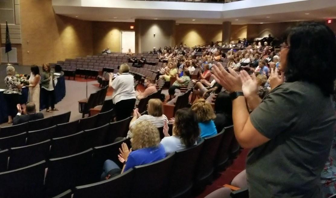 Beatrice Public School Teachers gather ahead of new school year start
