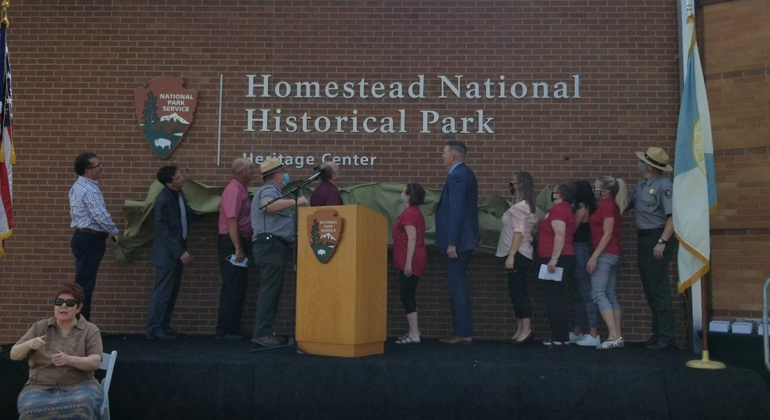 New name unveiled, at Homestead National Historical Park