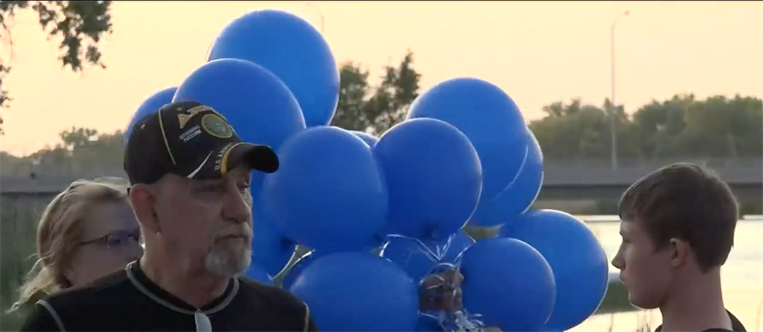Candlelight vigil in North Platte for young murder victim