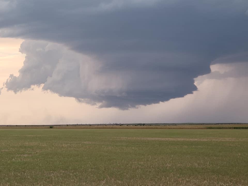 Large hail triggers severe warnings in Nebraska Panhandle Saturday