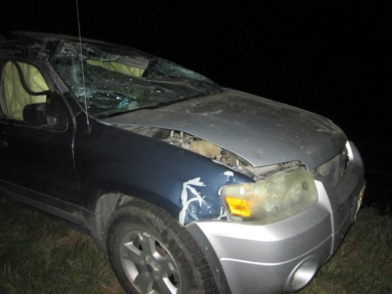 Fairbury man has minor injuries, in U.S. 77 rollover