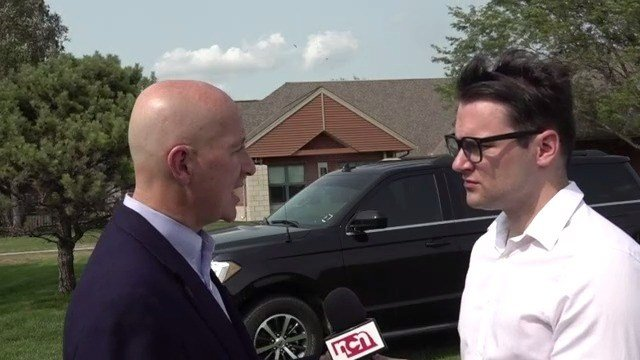 Governor Pete Ricketts speaks on Afghanistan situation
