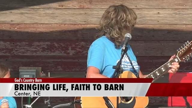 Knox County barn celebrates faith, lost loved one