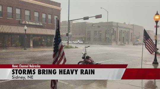 Heavy rain hits the Panhandle