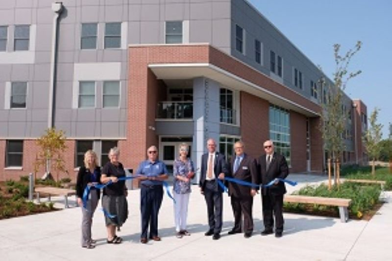 Southeast Community College completes second new residential hall, at Milford