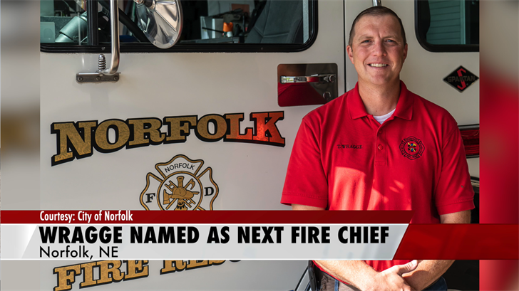 Wragge named new Norfolk fire chief