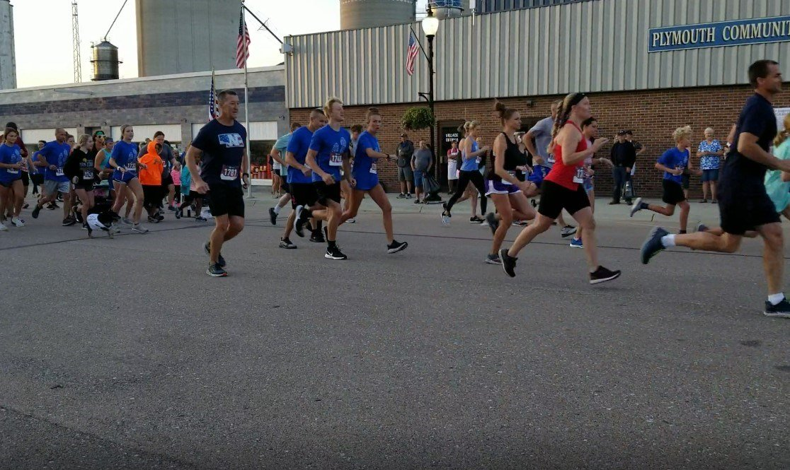 """""""Running for Brooke""""….Plymouth event helps support Koch children"""