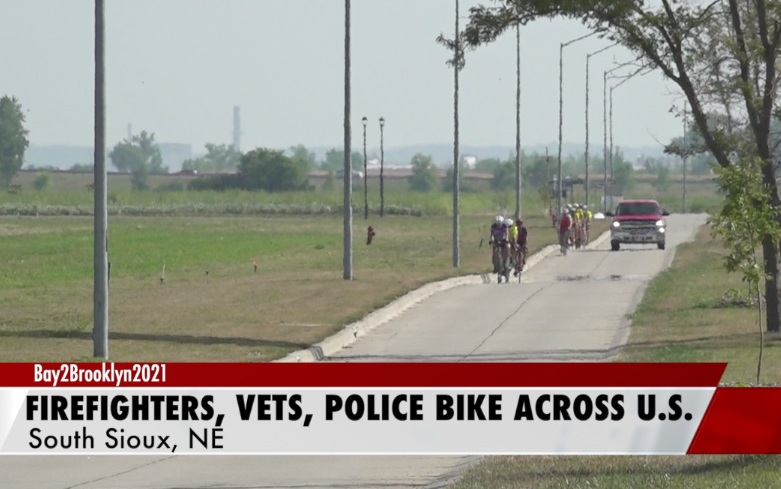 Biking from CA to NY, through NE, to honor veterans