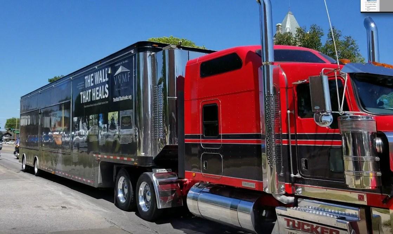 Healing Wall travels through Beatrice, on way to Marysville, Kansas