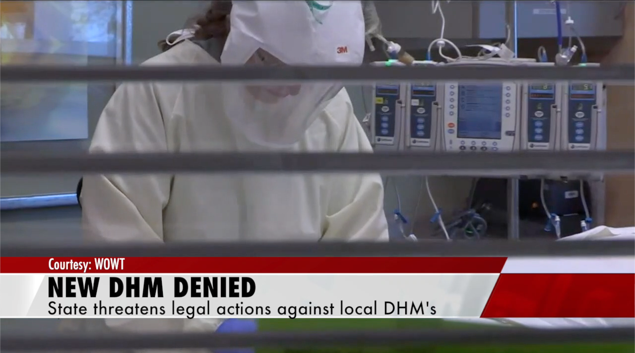 Douglas County Health Director request for new DHM denied