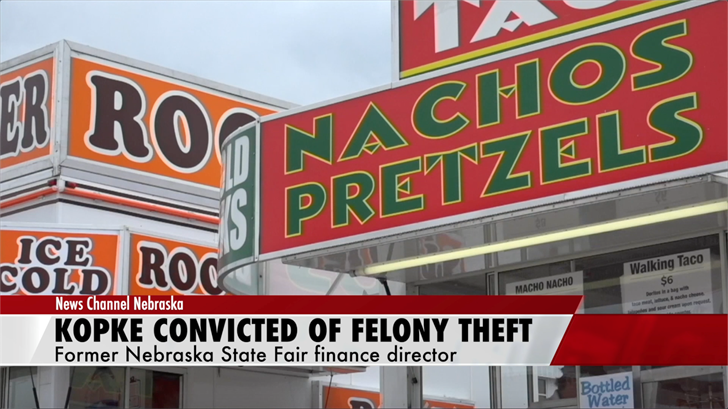 Former state fair finance director convicted of theft