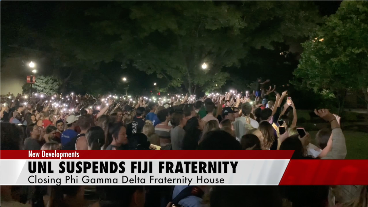 UNL suspends fraternity over sexual assault allegations