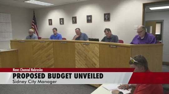 No mill levy increase included in Sidney's proposed budget