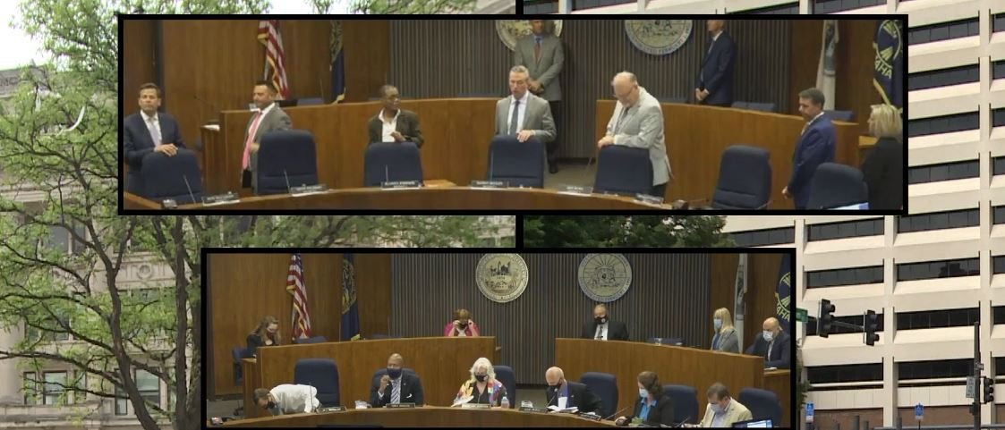 Festersen and Palermo: No 'consensus' for city council mask mandate