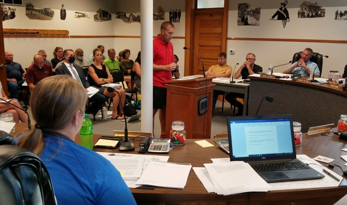 Gage County Board hears input on recommended wind energy regulation changes
