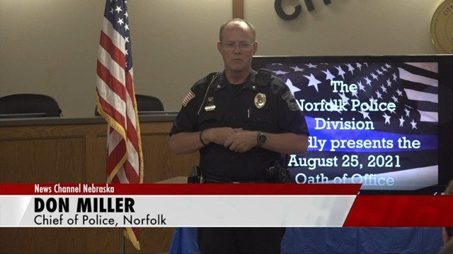 Norfolk Police Division swears in two newest officers