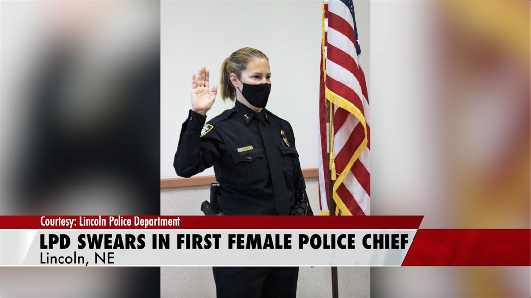 Lincoln PD swears in first female Police Chief