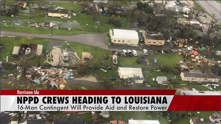 NPPD heading to Louisiana to assist recovery efforts