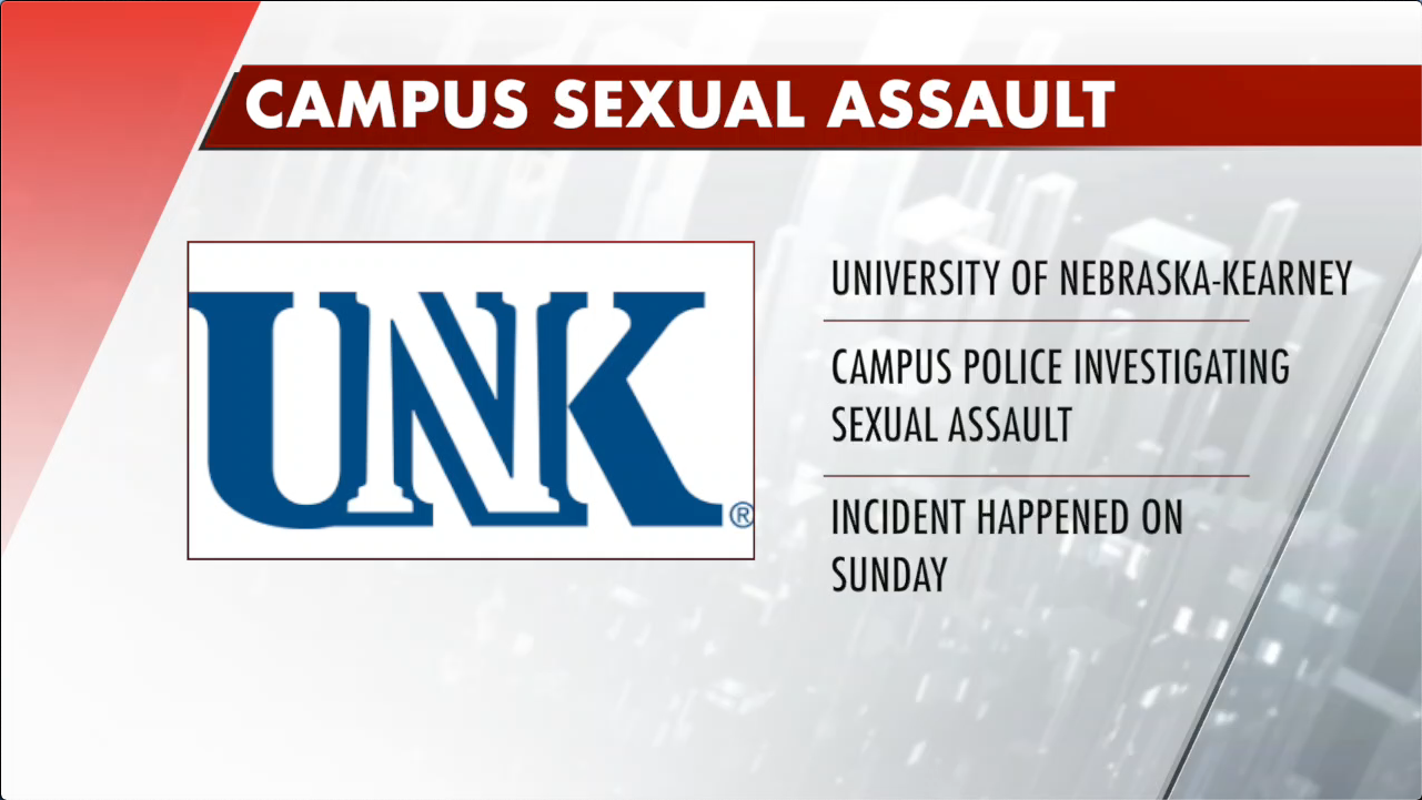 UNK campus police investigating sexual assault
