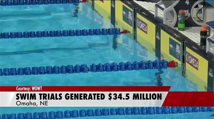 Olympic Swim Trials brings millions to Nebraska economy