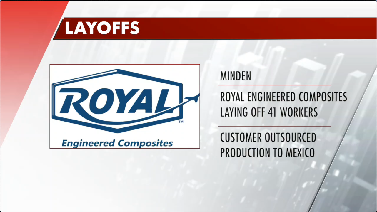Royal Engineered Composites to layoff 41 employees