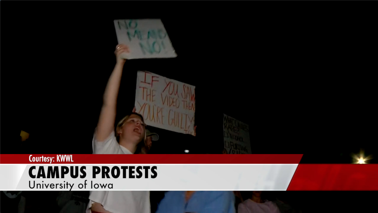 Protests against FIJI move to University of Iowa