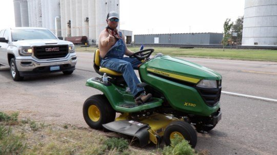 Off The Rails giveaway ends with mower road trip