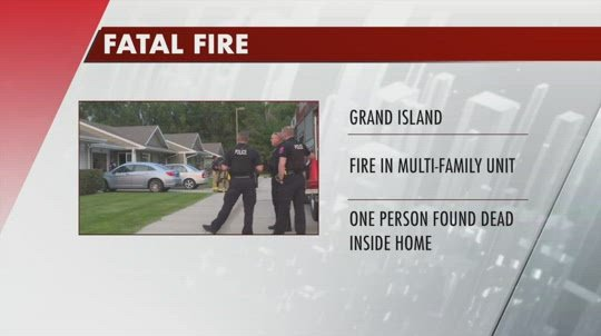 One person killed in Grand Island fire