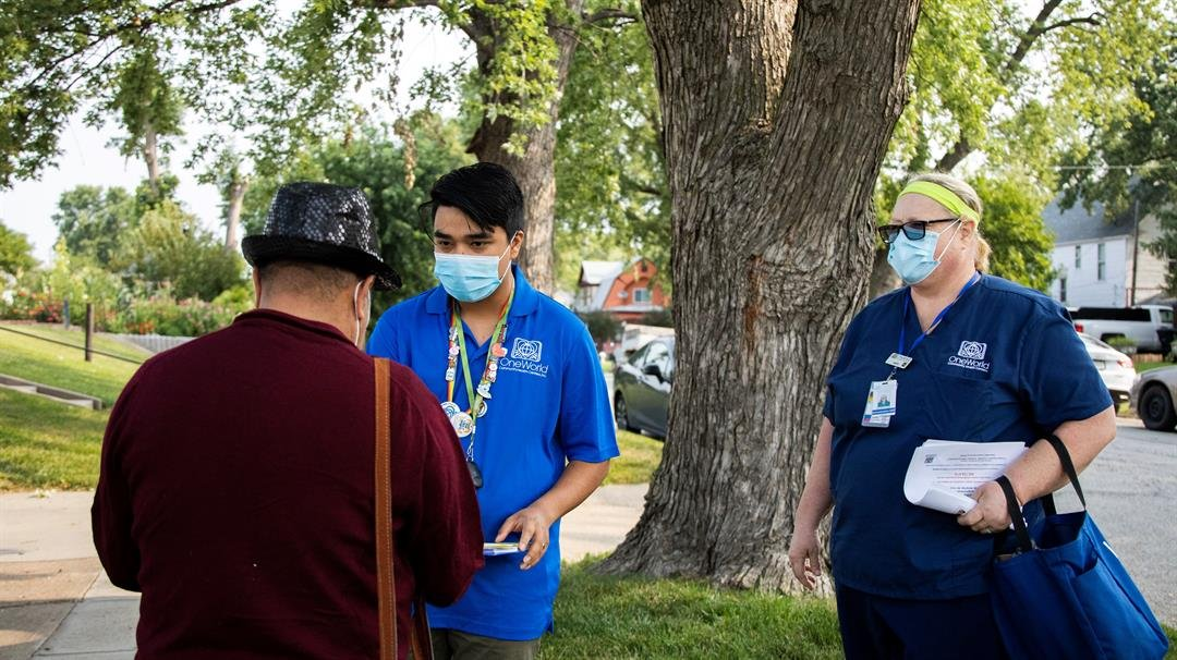 South Omaha sprints on vaccines as small-town Nebraska lags