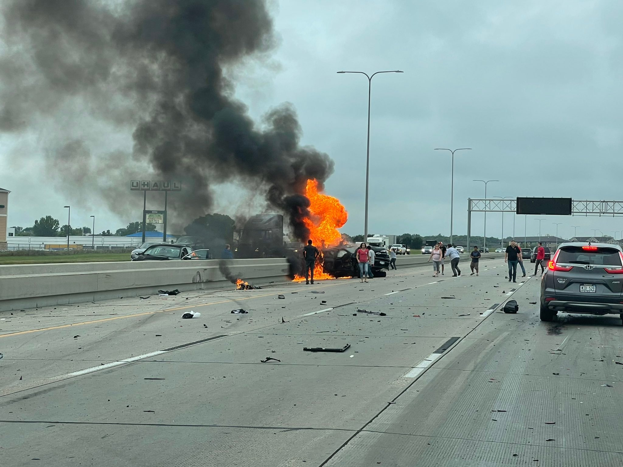 Multiple vehicles involved in I-80 fatality accident