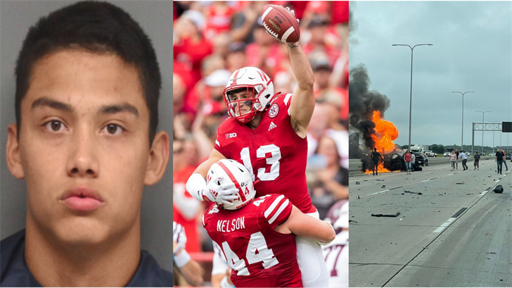Marine returns, Huskers win, fatal accident and more: All of the biggest weekend stories