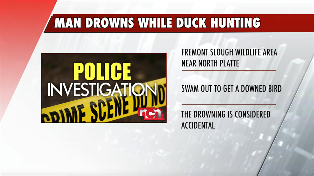 Police identify man who drowns in duck hunting accident