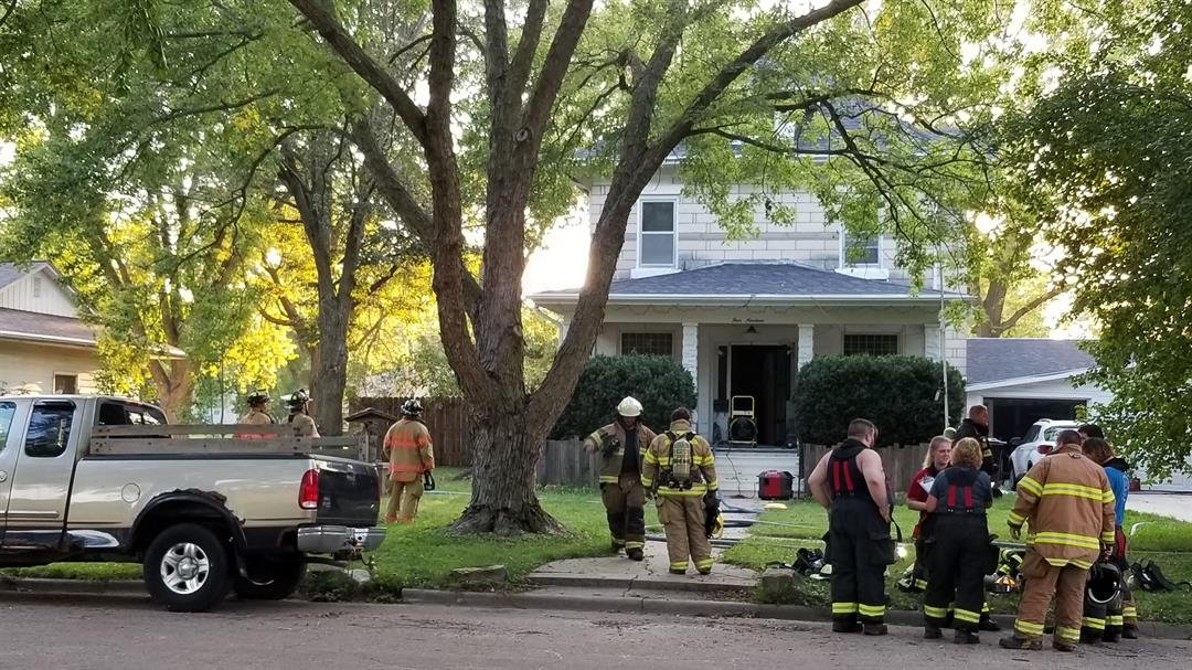 Family notices fire…Wymore, Blue Springs firefighters battle flames