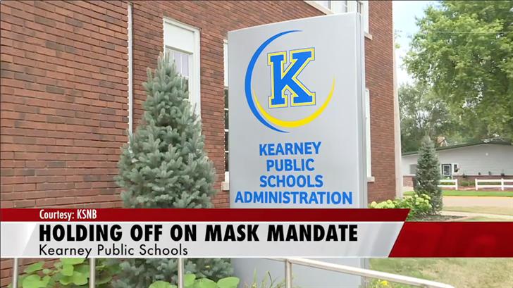 Kearney Public Schools temporarily suspend mask mandate
