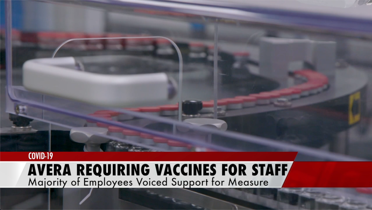 Avera Health to require vaccines for staff