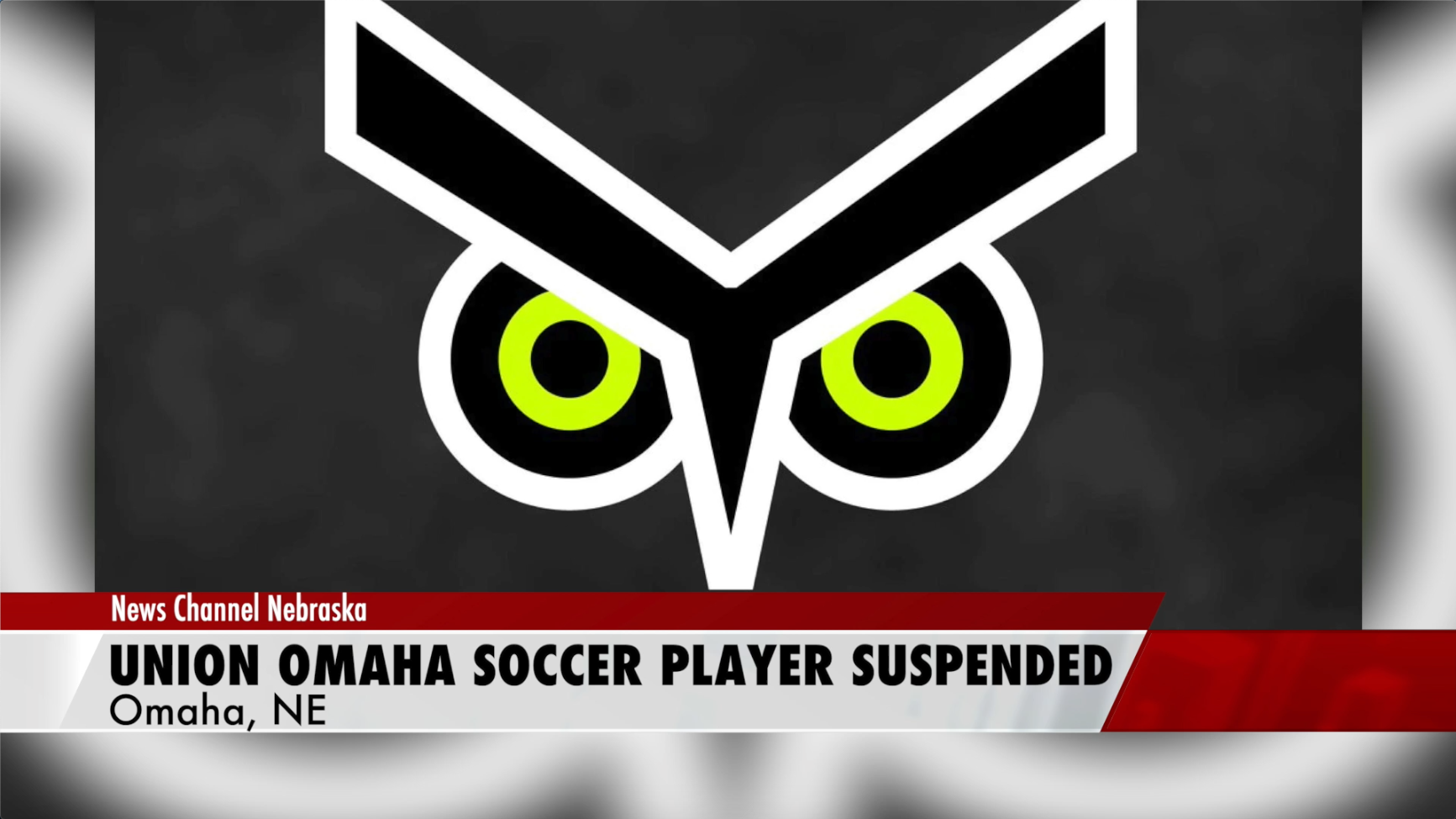 Professional Omaha soccer player suspended