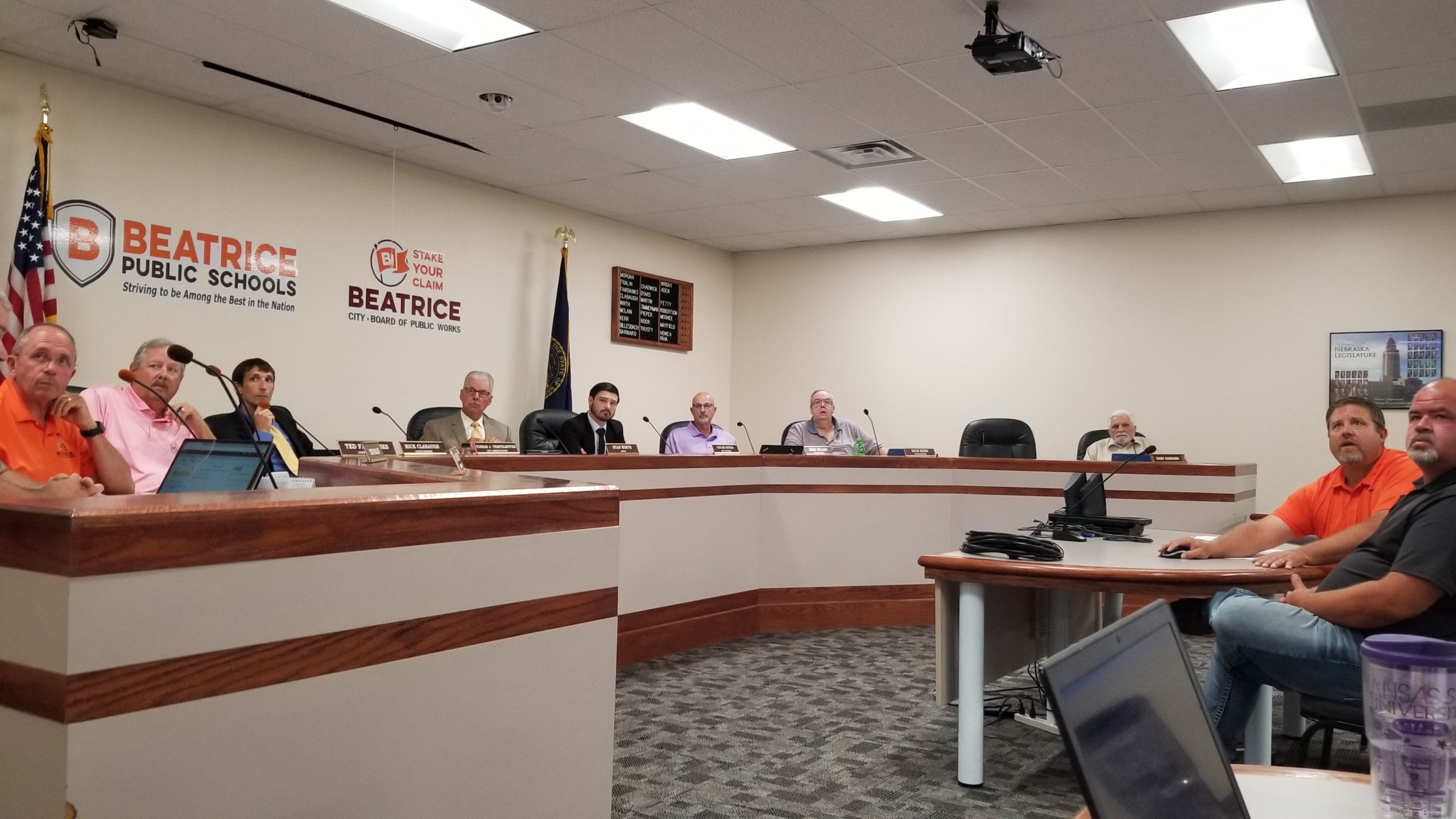 Beatrice City biennial budget, street plan approved