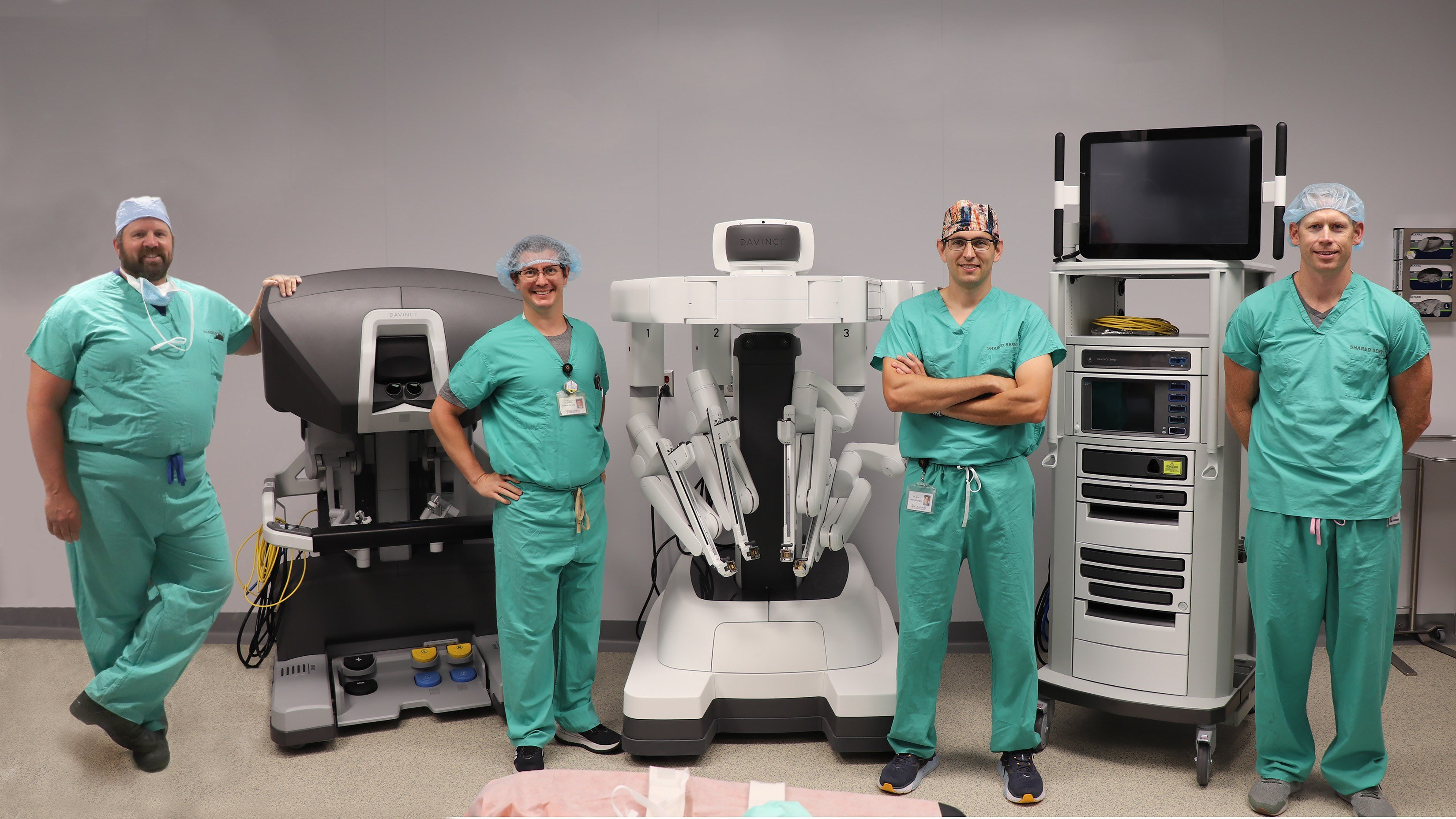 CCH completes first surgery using robotic system