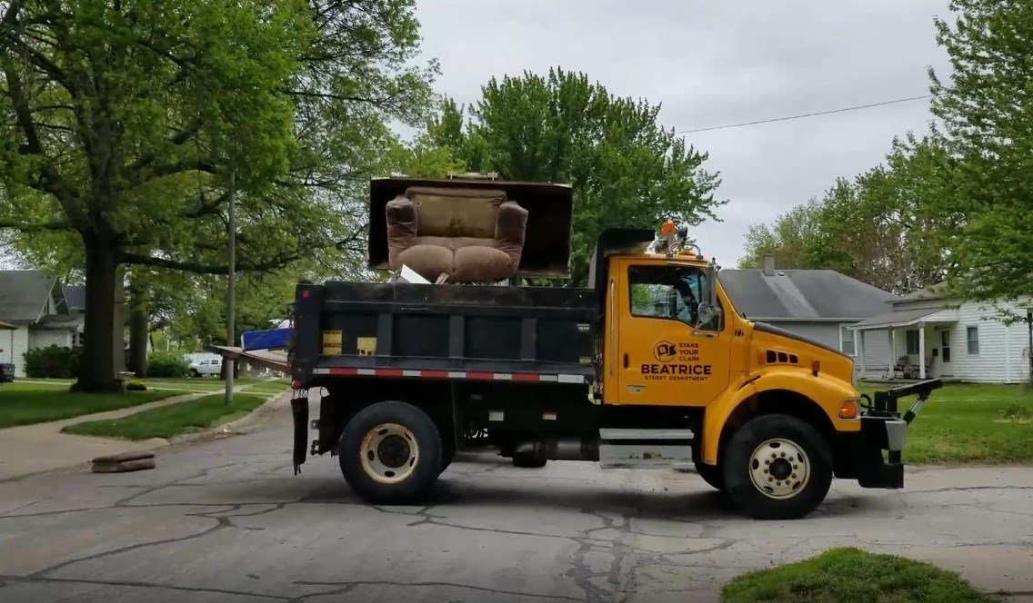 Cleanup week in Beatrice transitions to the fall