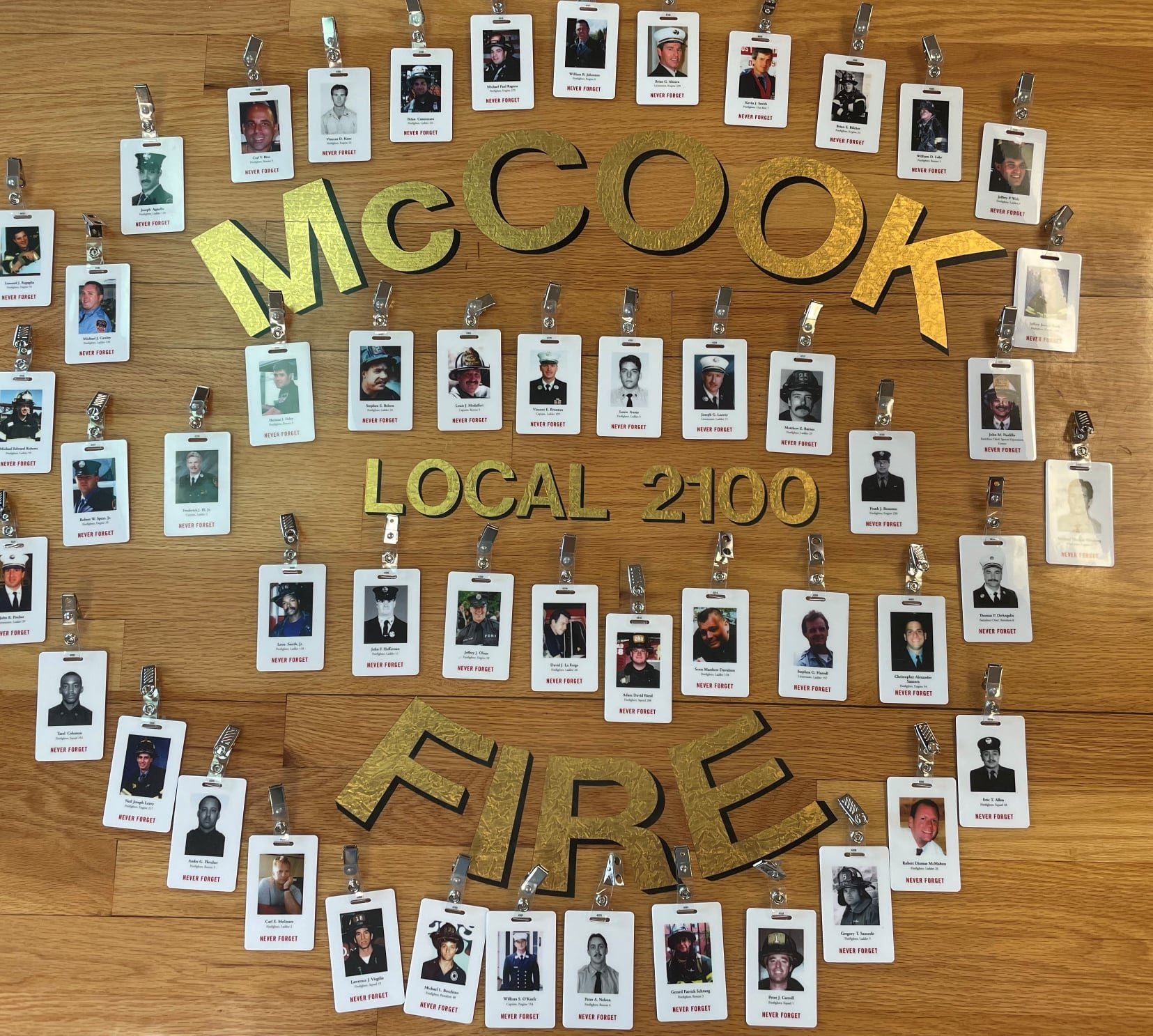 McCook Fire Department: Stair climb for 9/11