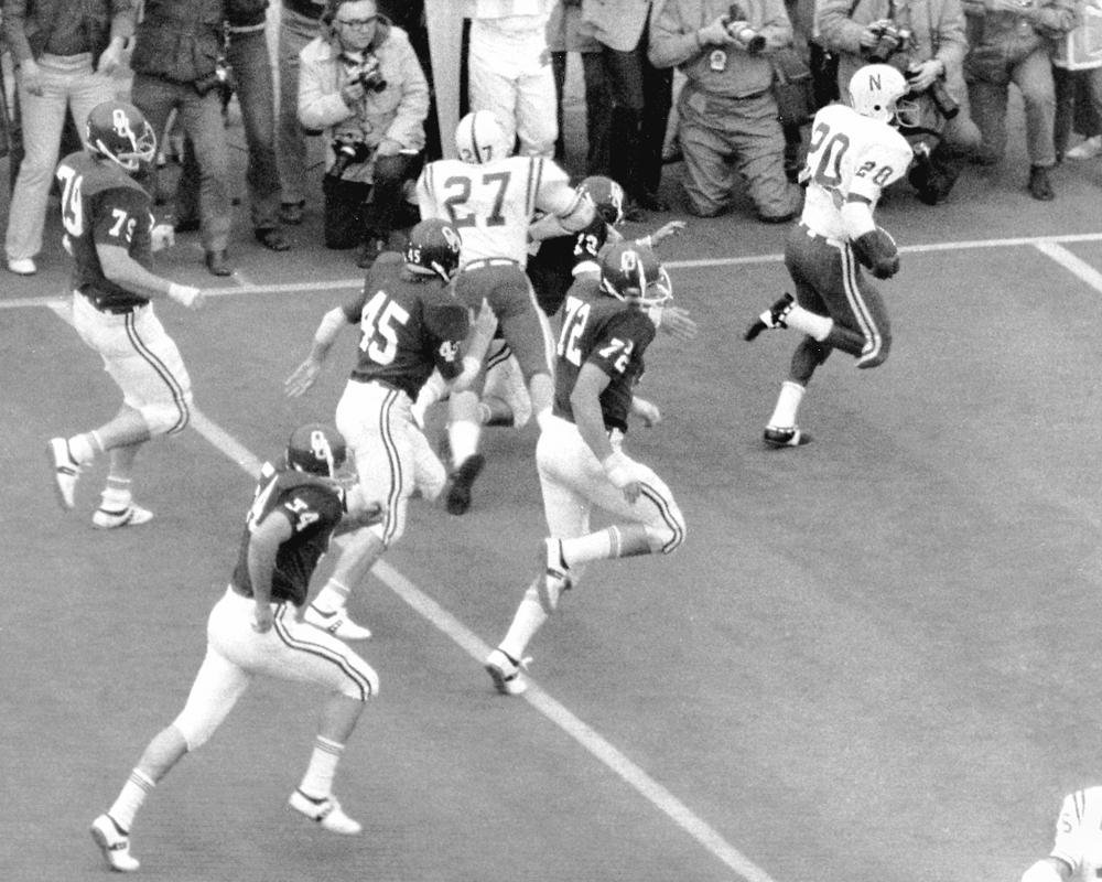 Rodgers' return vs. Oklahoma still resonates 50 years later