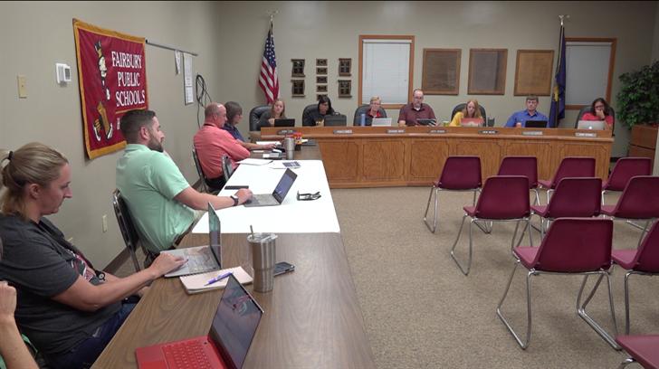 Fairbury School Board approves budget, parking lot plans, dress code update