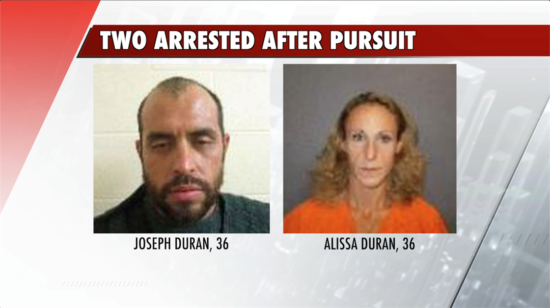 High speed pursuit leads to two facing numerous charges
