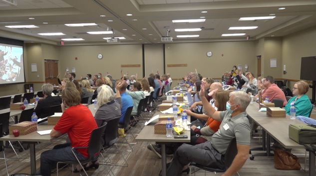"""""""Columbus could become a Blue Zone"""": Community members brainstorm health initiatives"""