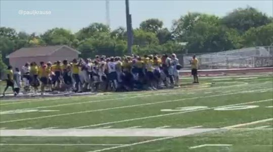 Two walk-ons earn scholarships, celebration caught on camera
