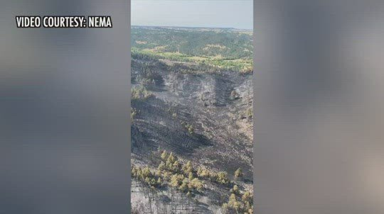 Post Fire containment up to 50 percent